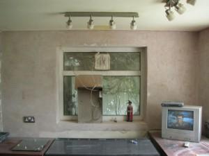 Kitchen post plastering