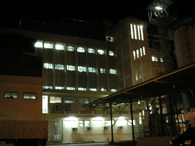 Damanhour Mill At Night